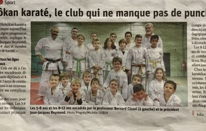 LA TRIBUNE LE PROGRES NOV 2019